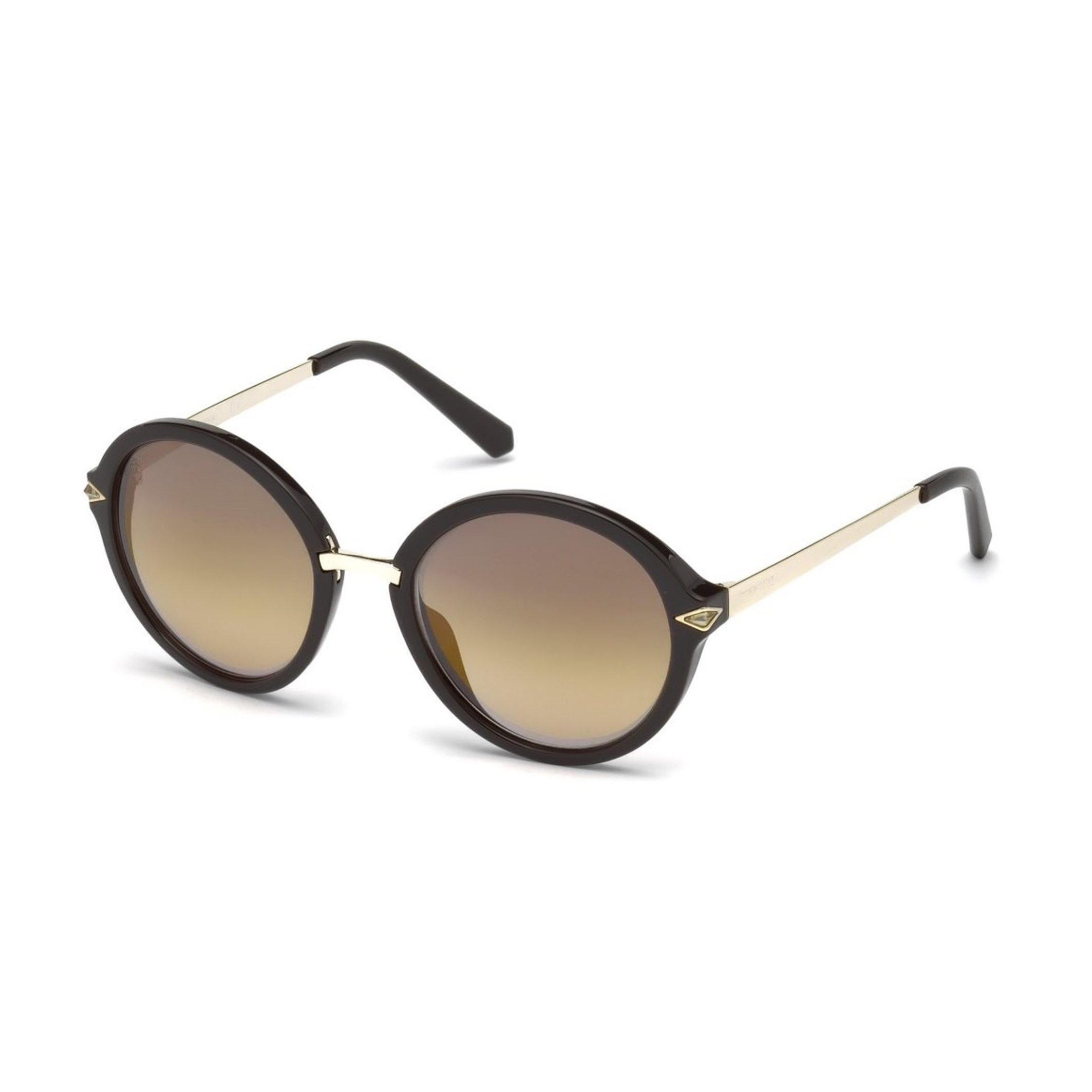 Swarovski Women's Sunglasses Black SK0153 - black-1 NOSIZE