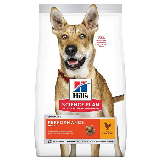 Hill's Science Plan Dog Adult Performance Chicken 14 kg