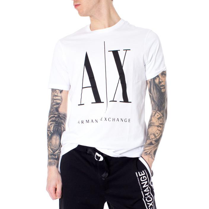 Armani Exchange Men's T-Shirt White 166247 - white XS