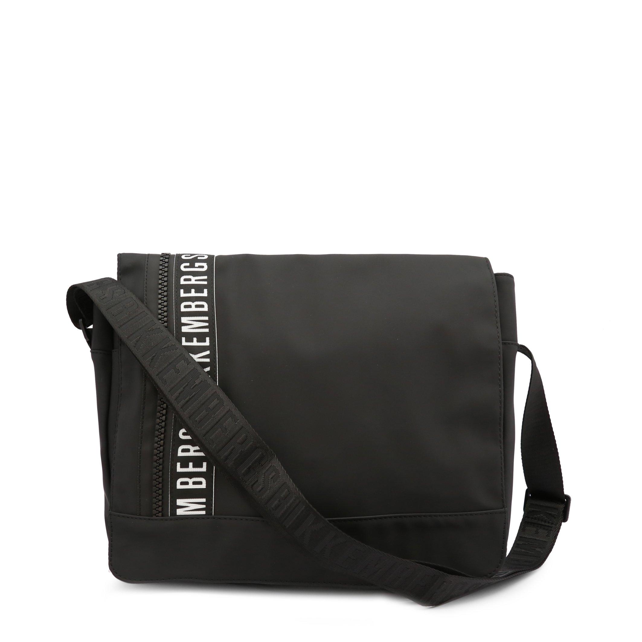 Bikkembergs Men's Briefcase Black E2BPME170042 - black-1 NOSIZE