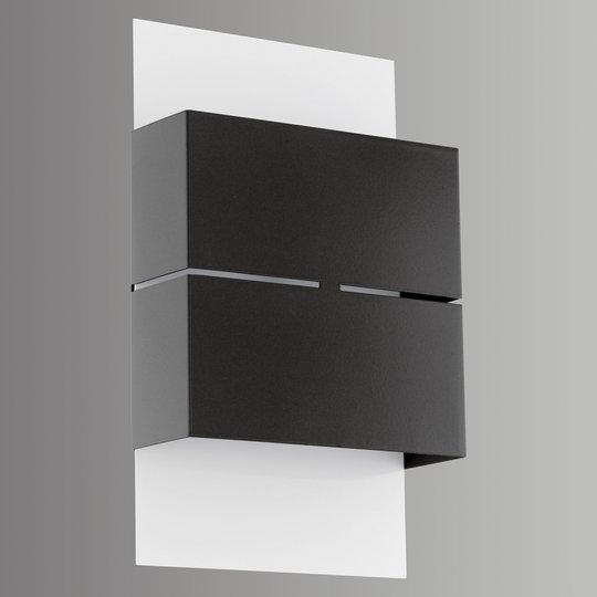 Modernisti muotoiltu LED-ulkoseinävalaisin Kibea