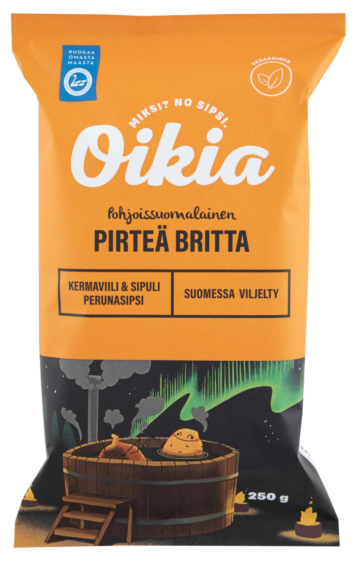 Oikia Pirteä Britta Sour Cream & Onion 250g
