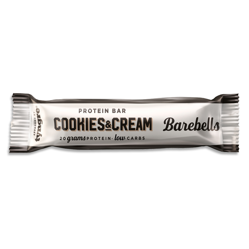 Proteinbar Cookies & Cream 40g - 35% rabatt