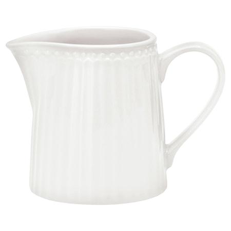 Alice Mjölkkanna Vit