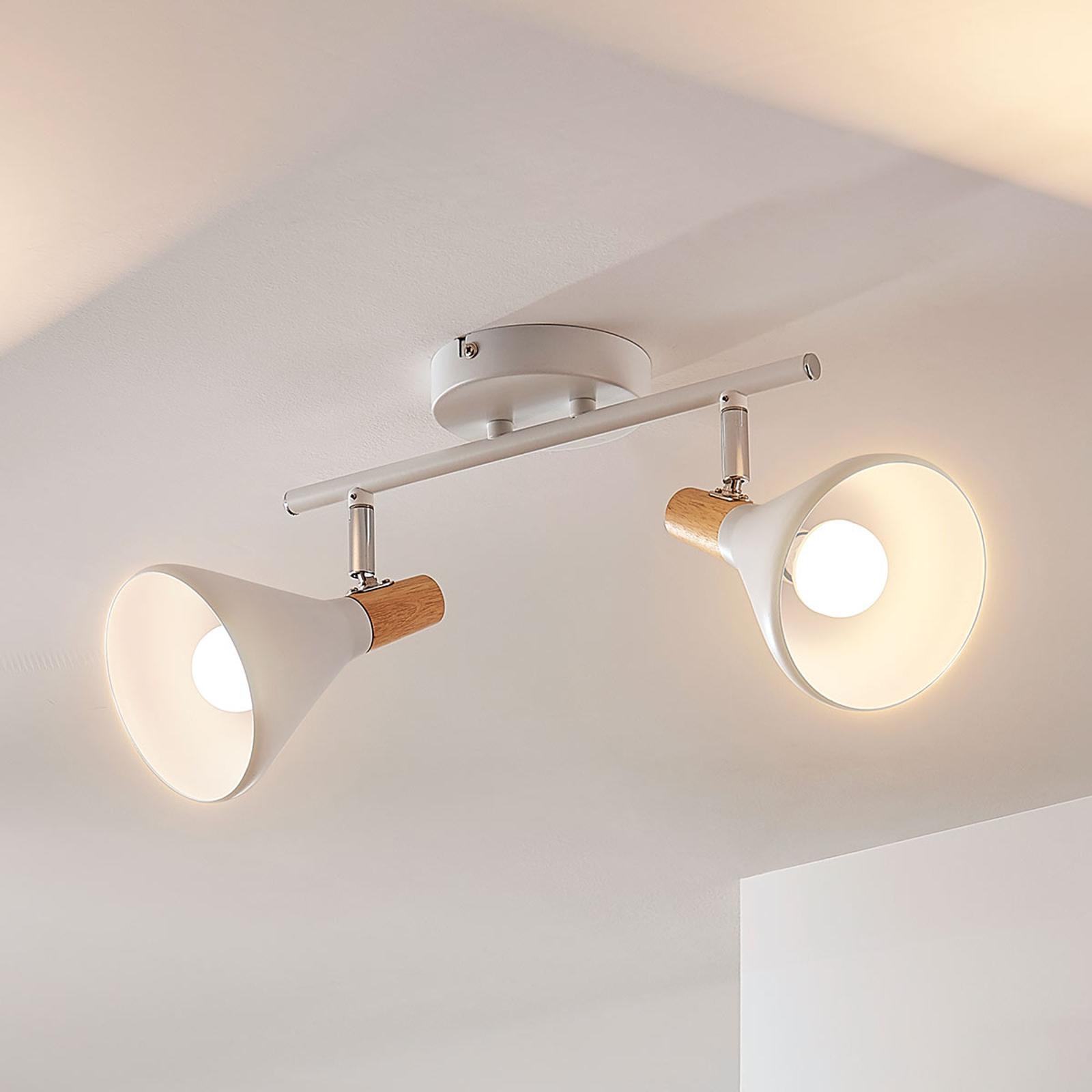 Kaksilamppuinen LED-kattovalaisin Arina