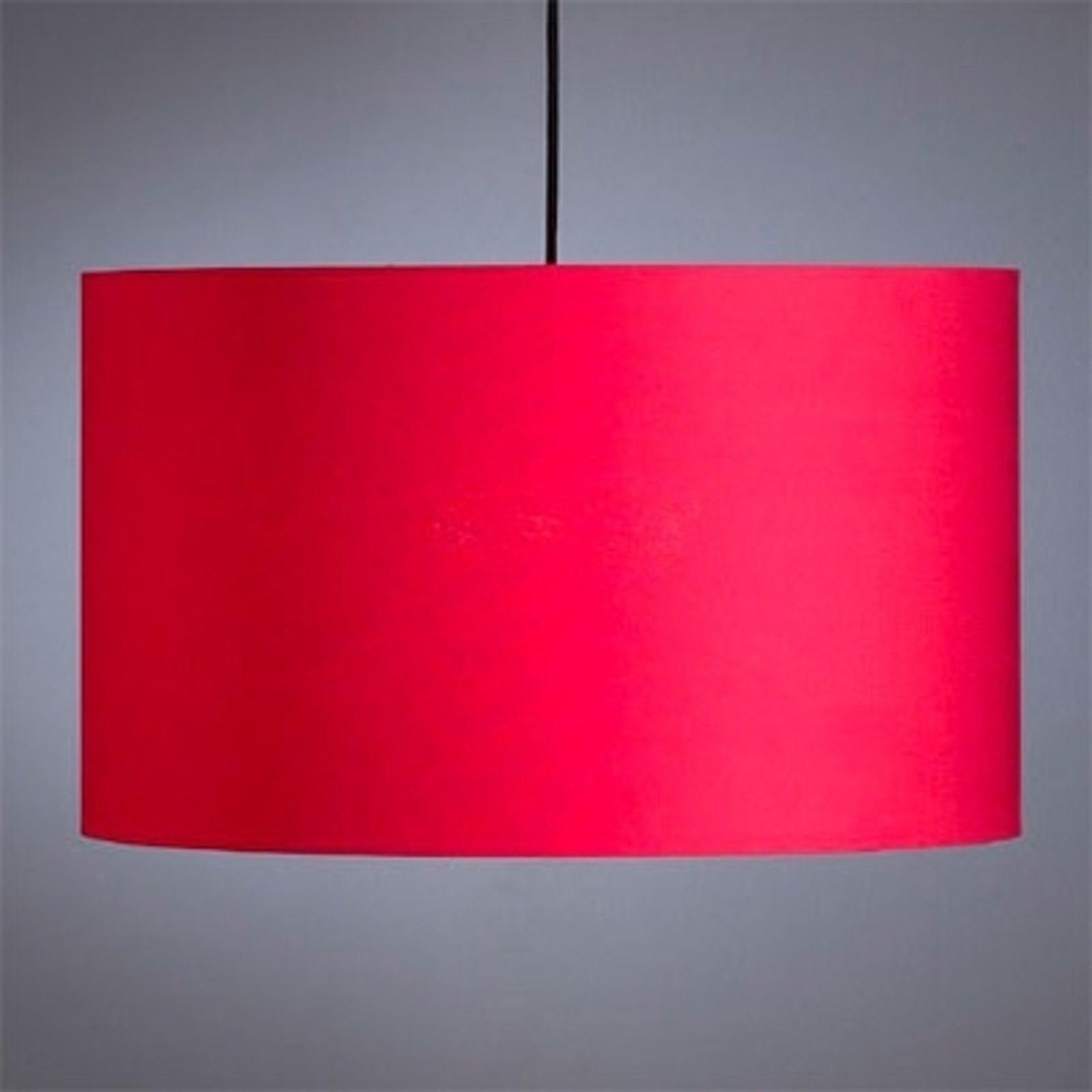 Rød pendellampe fra Schnepel