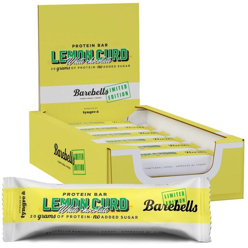 Proteiinipatukat Lemon Curd 12kpl - 43% alennus