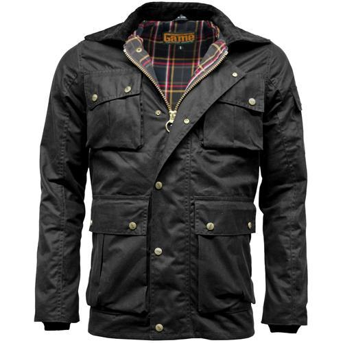 Game Technical Apparel Men's Jacket Black Utilitas Wax - Black S