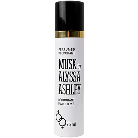 Alyssa Ashley Musk Perfumed Spray Deodorant, 75 ml Alyssa Ashley Deodorantit