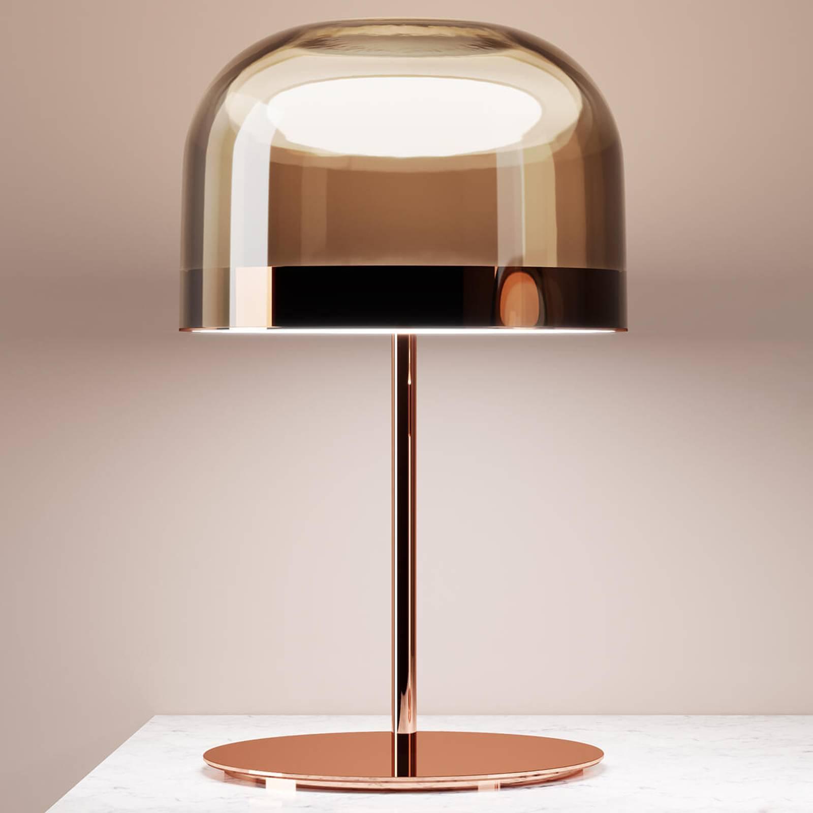 LED bordlampe Equatore i kobber, 60 cm