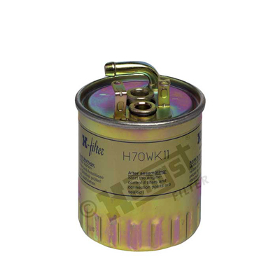 Polttoainesuodatin HENGST FILTER H70WK11