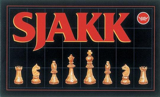 Damm Sjakk med Trebrikker