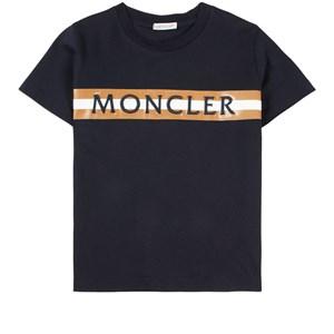 Moncler Logo T-shirt Marinblå 6 år