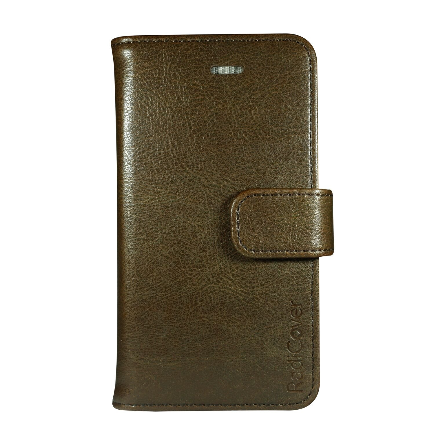 """RadiCover - Flipside """"Fashion"""" Stand Function - Iphone 5/5S/SE - Brown"""