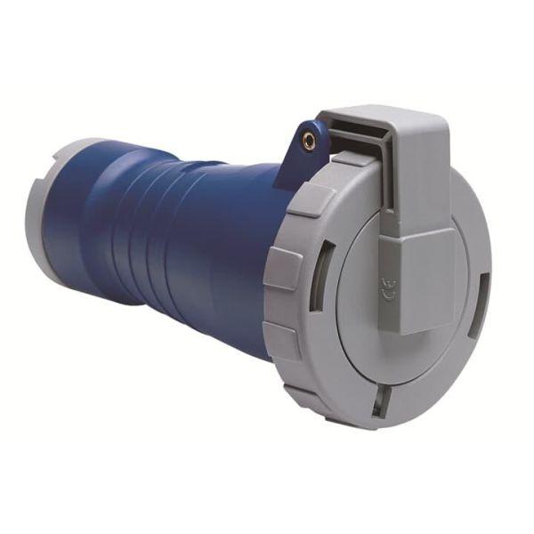 ABB 2CMA166558R1000 Jatkopistorasia suora, IP67 Sininen, 16 A