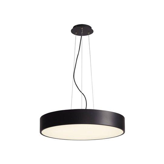 Arcchio Noabelle LED-hengelampe, svart, 80 cm