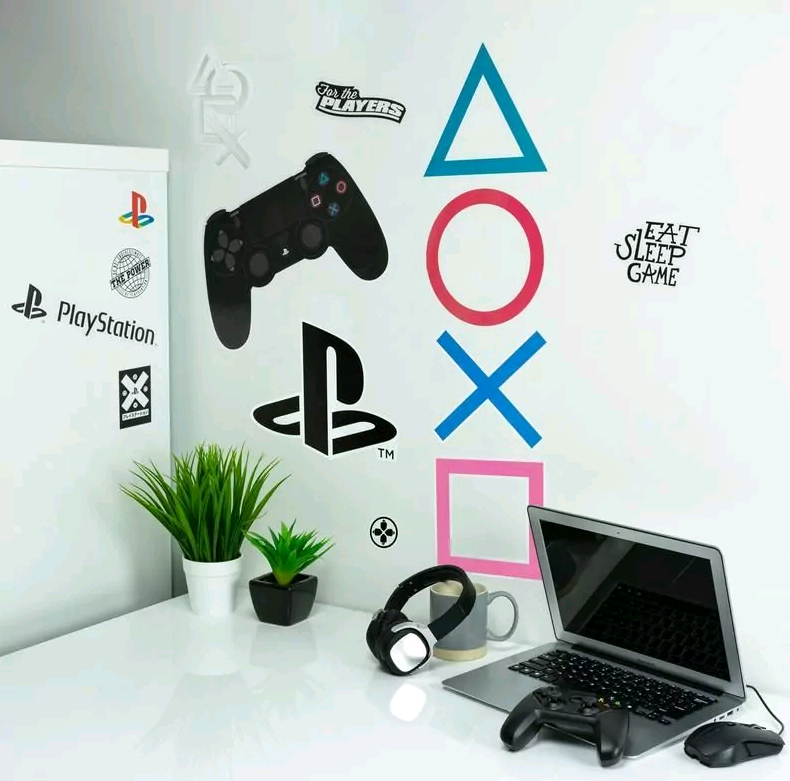Playstation Wall Decals (PP6581PS)