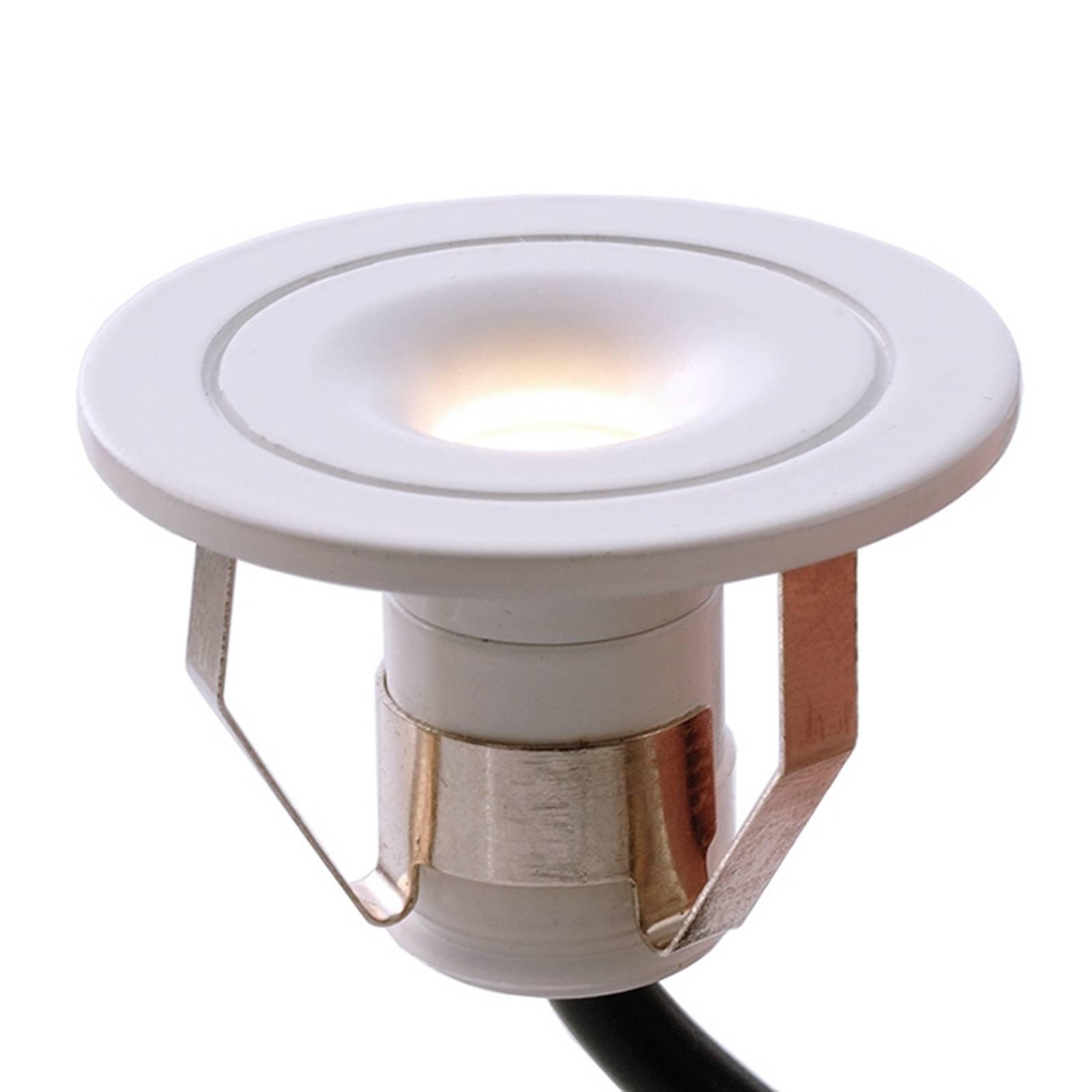 Punto Limi – liten, LED-innbyggingslampe