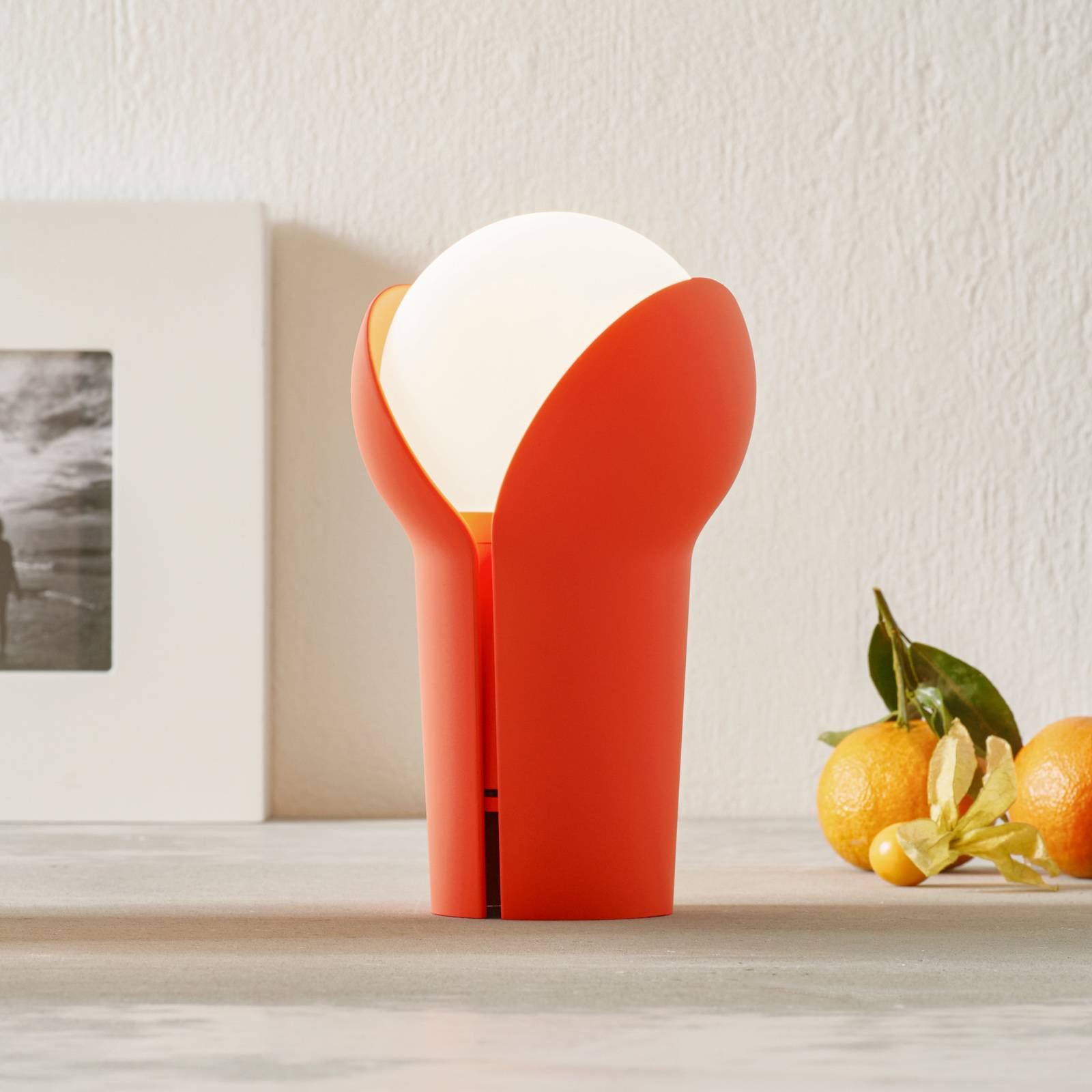 Innermost Bud -LED-pöytälamppu, langaton, Fluro