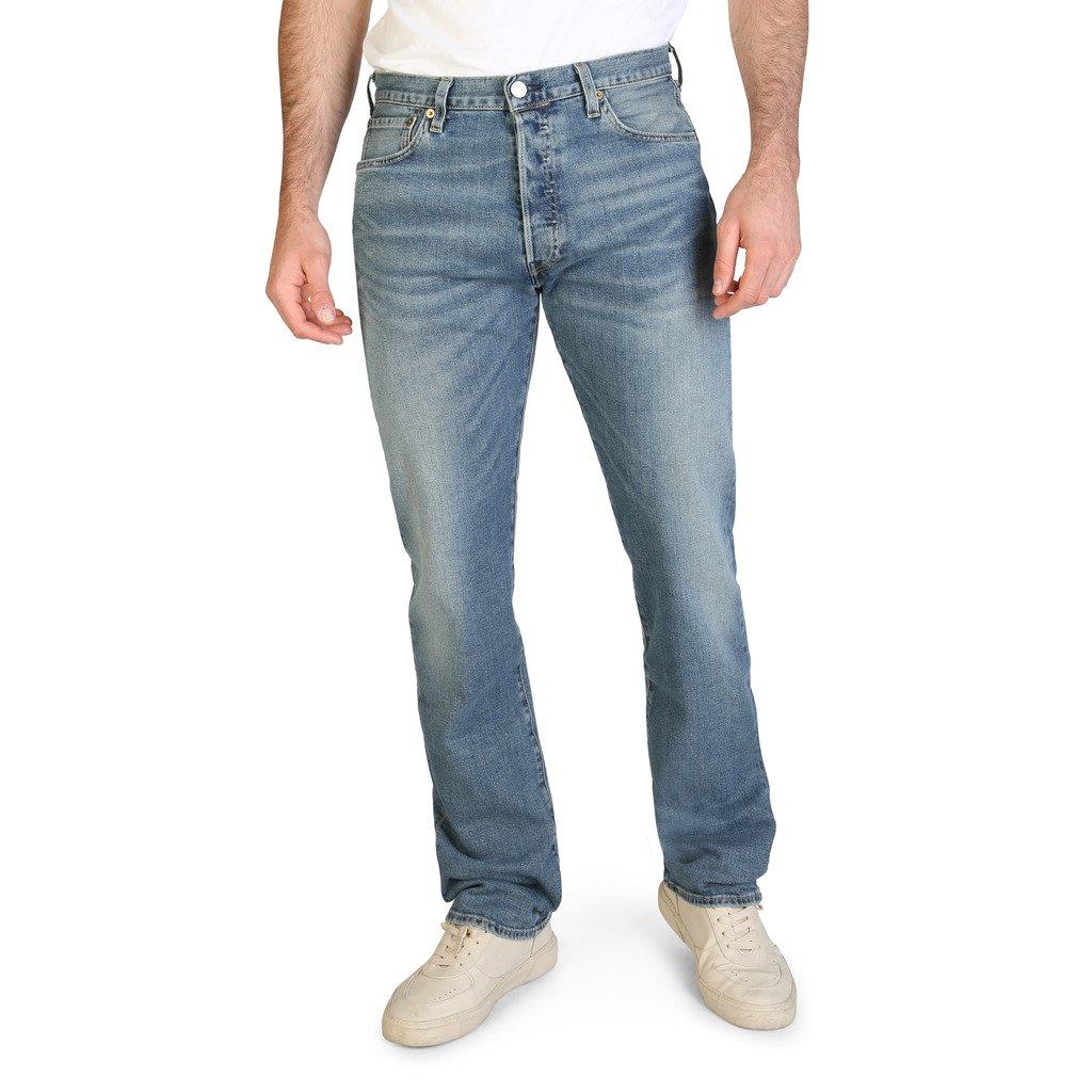 Levis Men's Jeans Blue 501 - blue 33