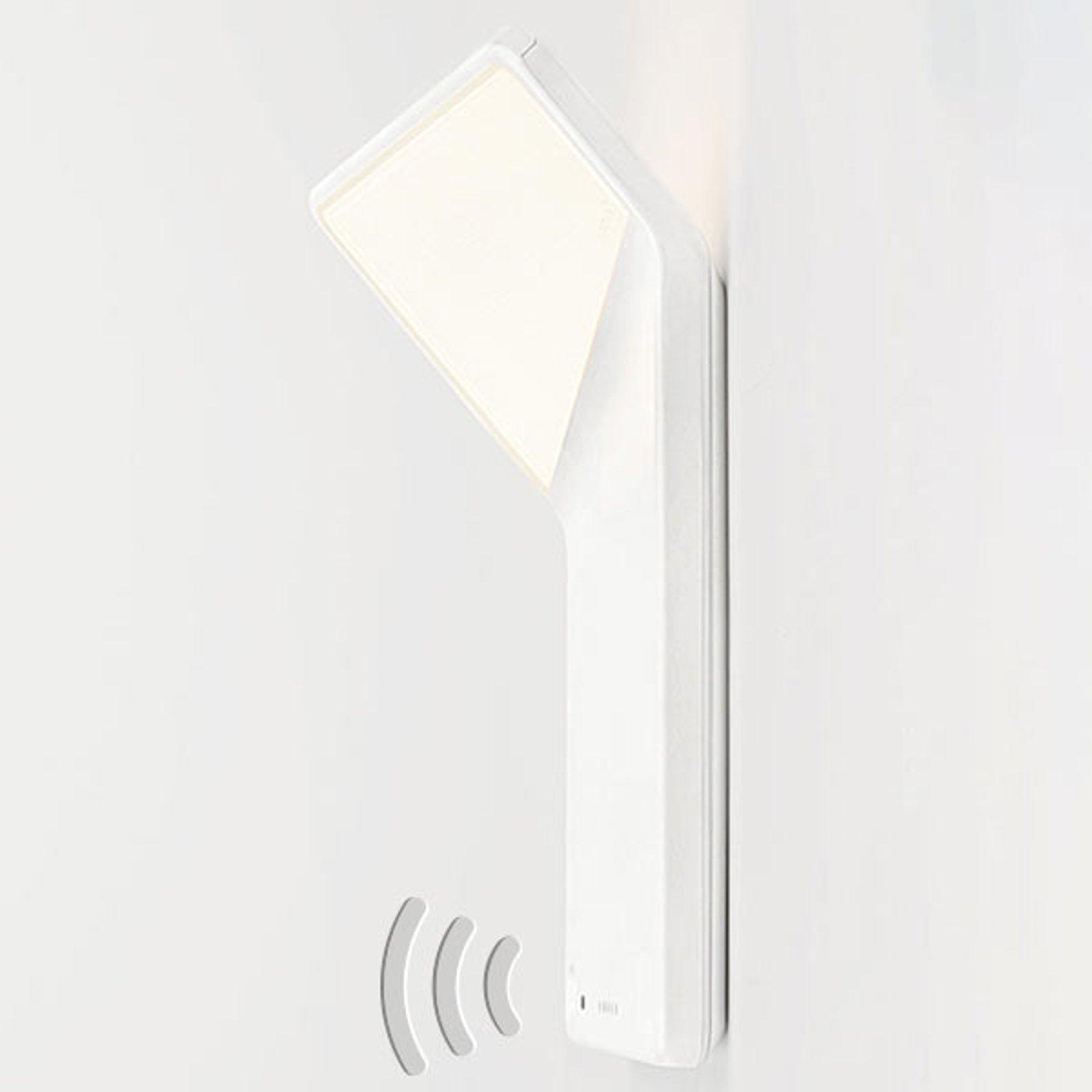Nimbus Winglet CL LED-vegglampe, matt hvit