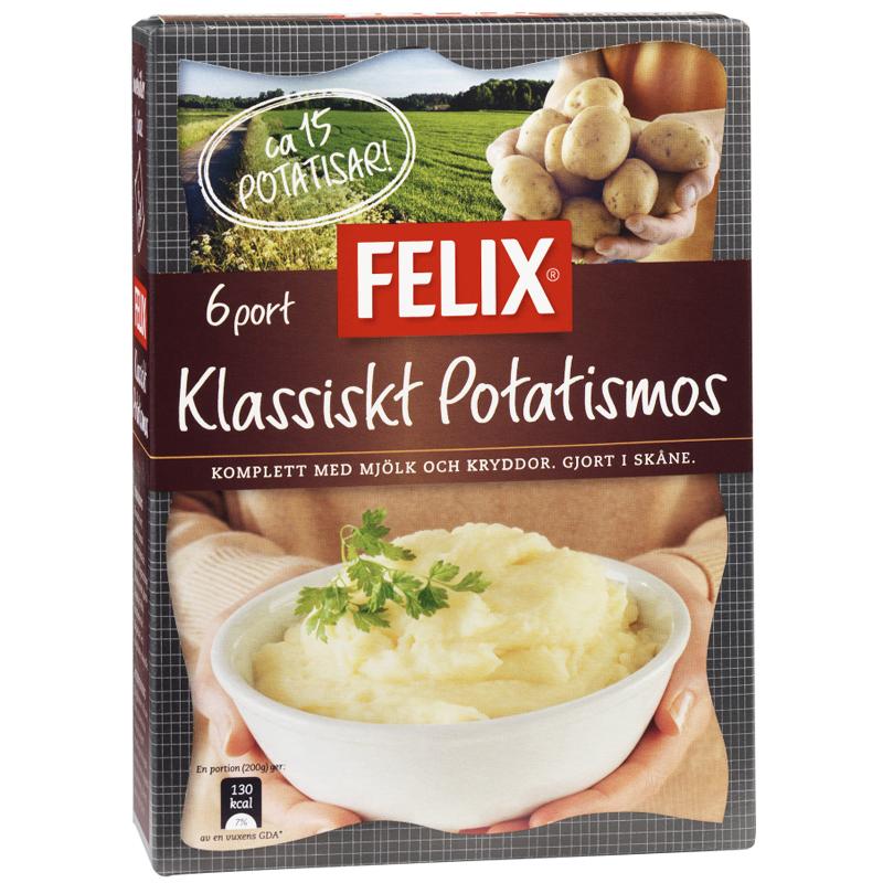 """Potatismos """"Klassiskt"""" 220g - 41% rabatt"""