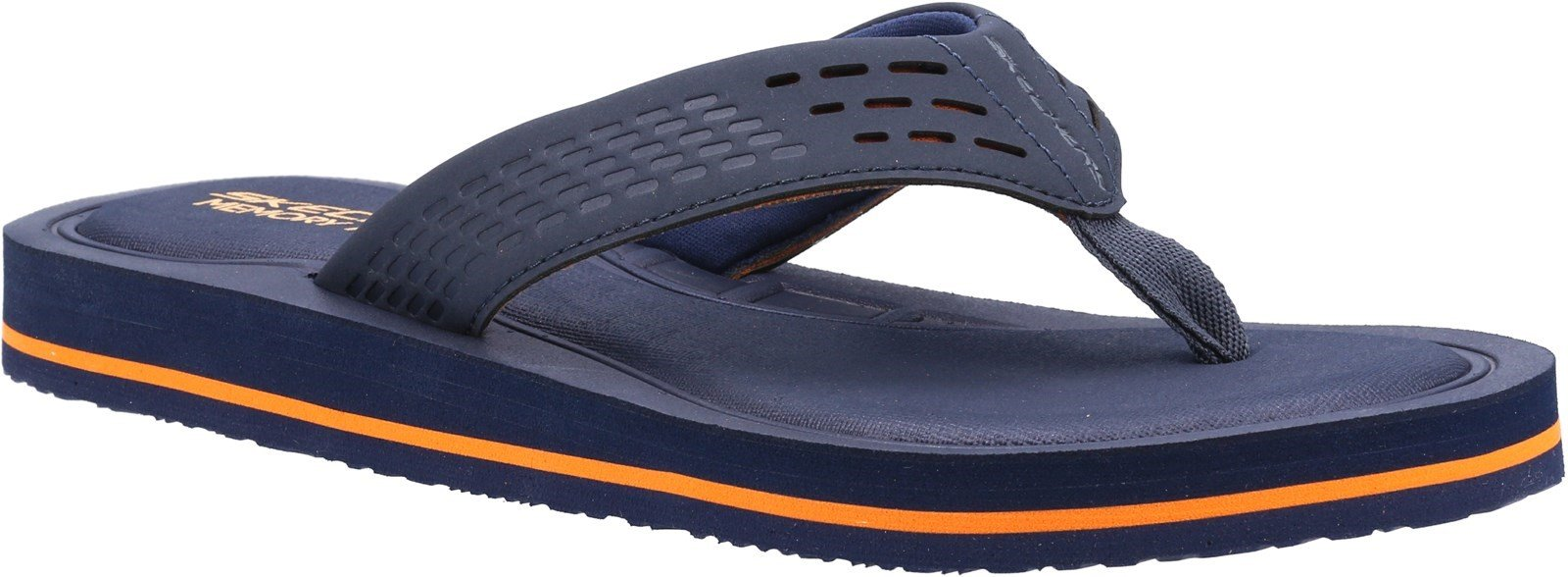 Skechers Men's Tocker Saga Bora Summer Sandal Various Colours 32214 - Navy 6