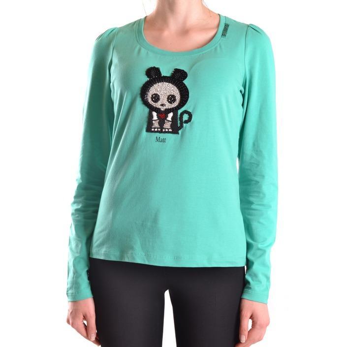 Pinko Women's T-Shirt Green 160981 - green L