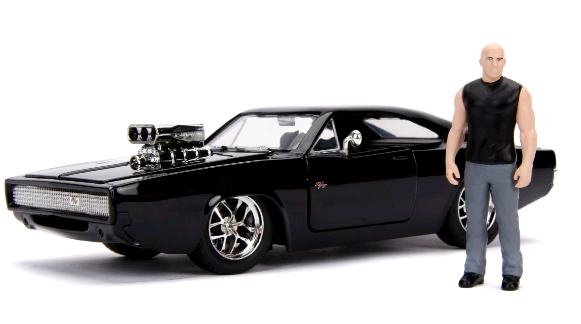 Jada - Fast&Furious - Build & Collect Charger 1:24 (253203016)