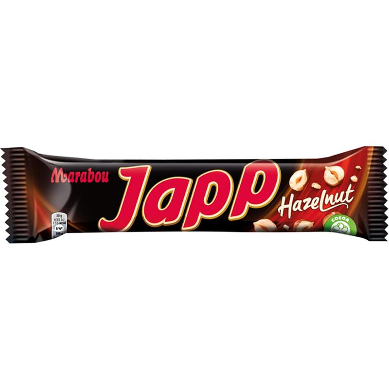 """Japp """"Hazelnut"""" 60g - 20% rabatt"""