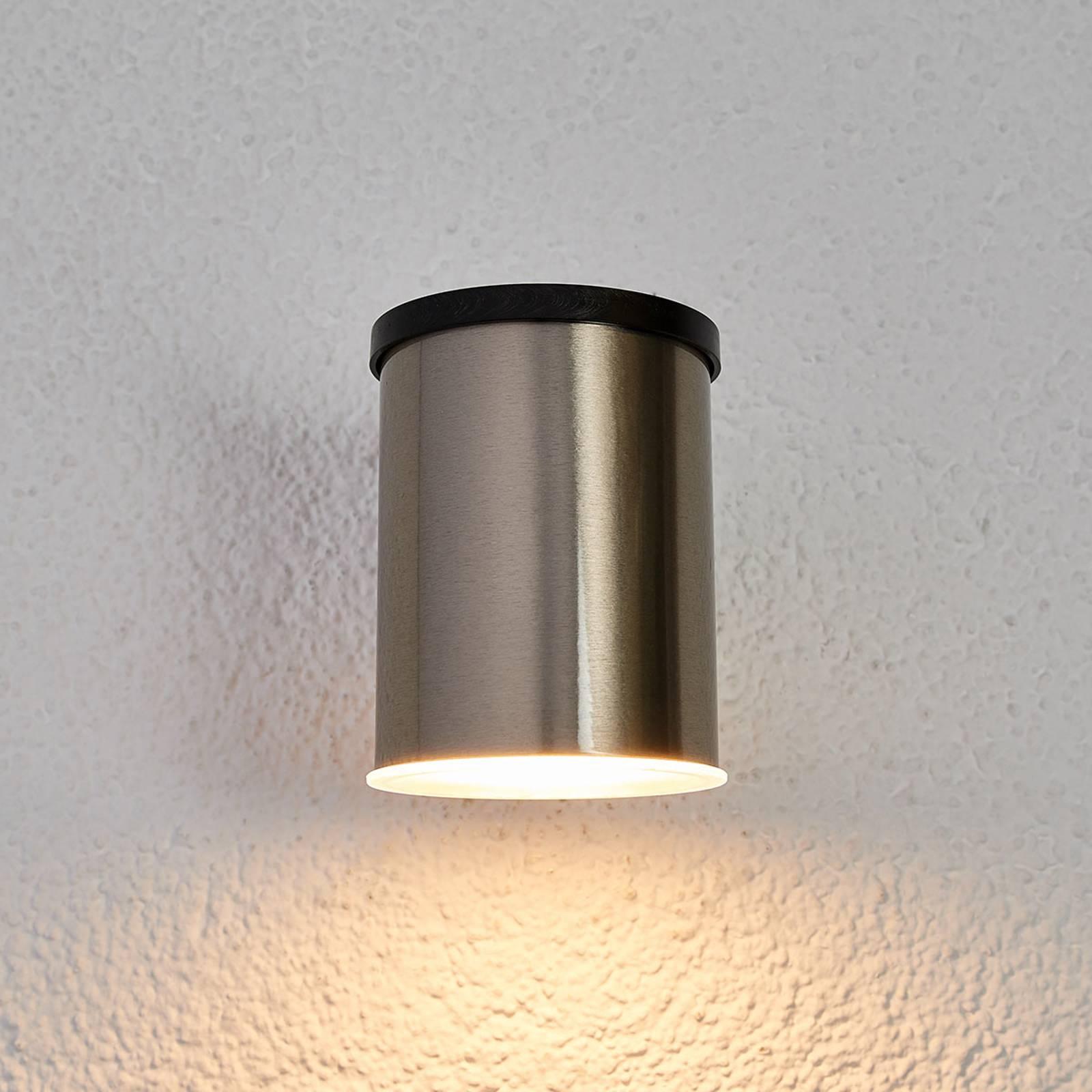 LED -aurinkoseinävalaisin Tyson, pyöreä, kirkas
