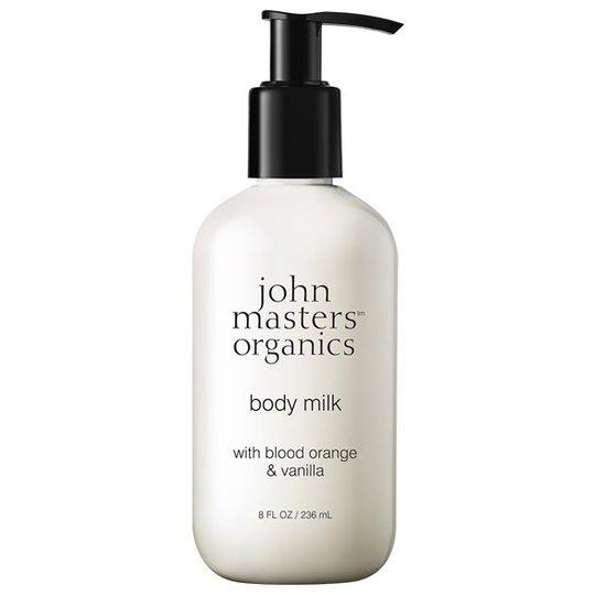 John Masters Organics Body Milk with Blood Orange & Vanilla, 236 ml