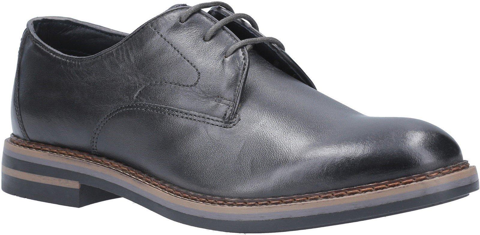 Base London Men's Wayne Burnished Lace Up Shoe Various Colours 29439 - Grey 6