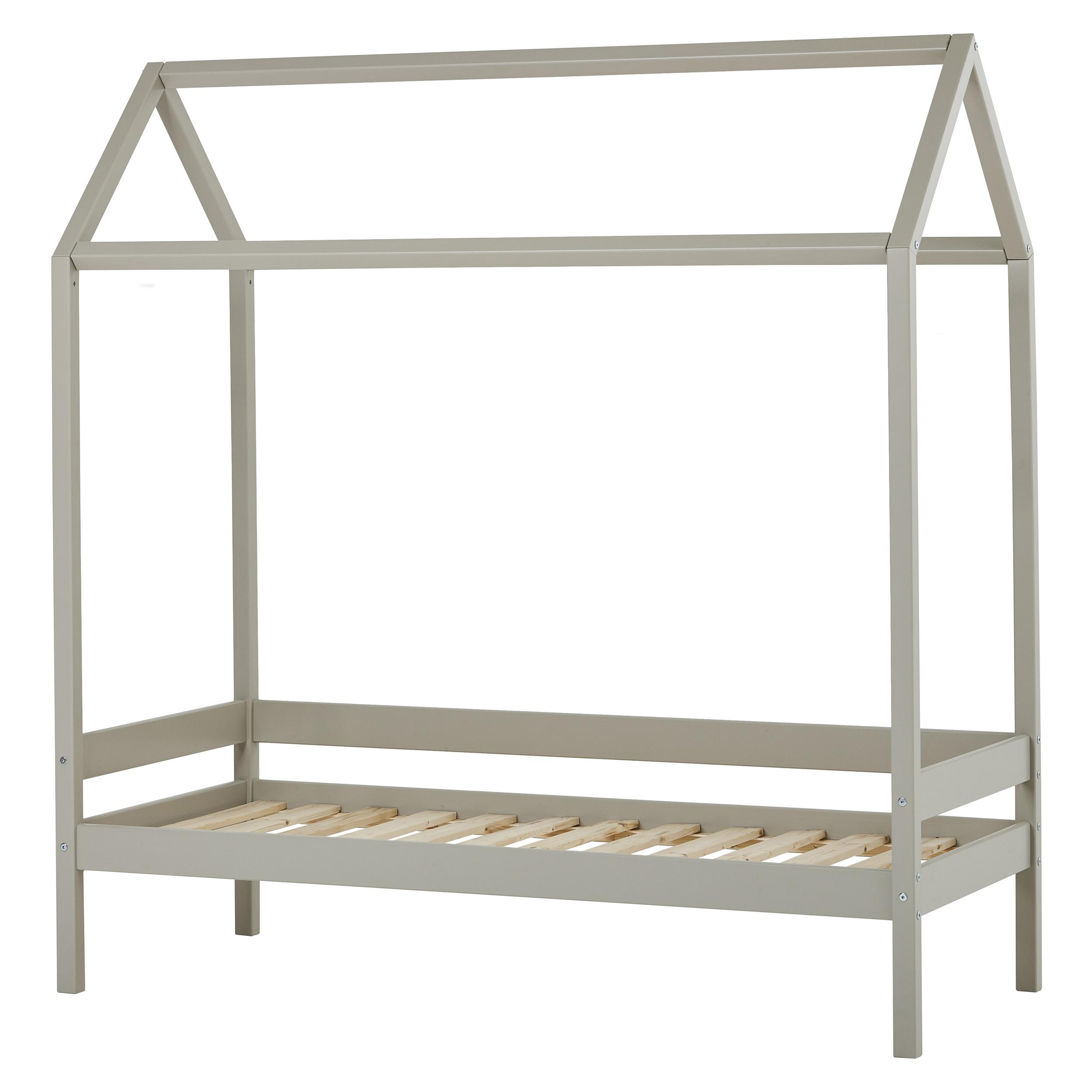 Hoppekids - IDA-MARIE House Bed 70x160cm - Dove Grey