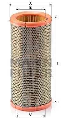 Ilmansuodatin MANN-FILTER C 1399/2