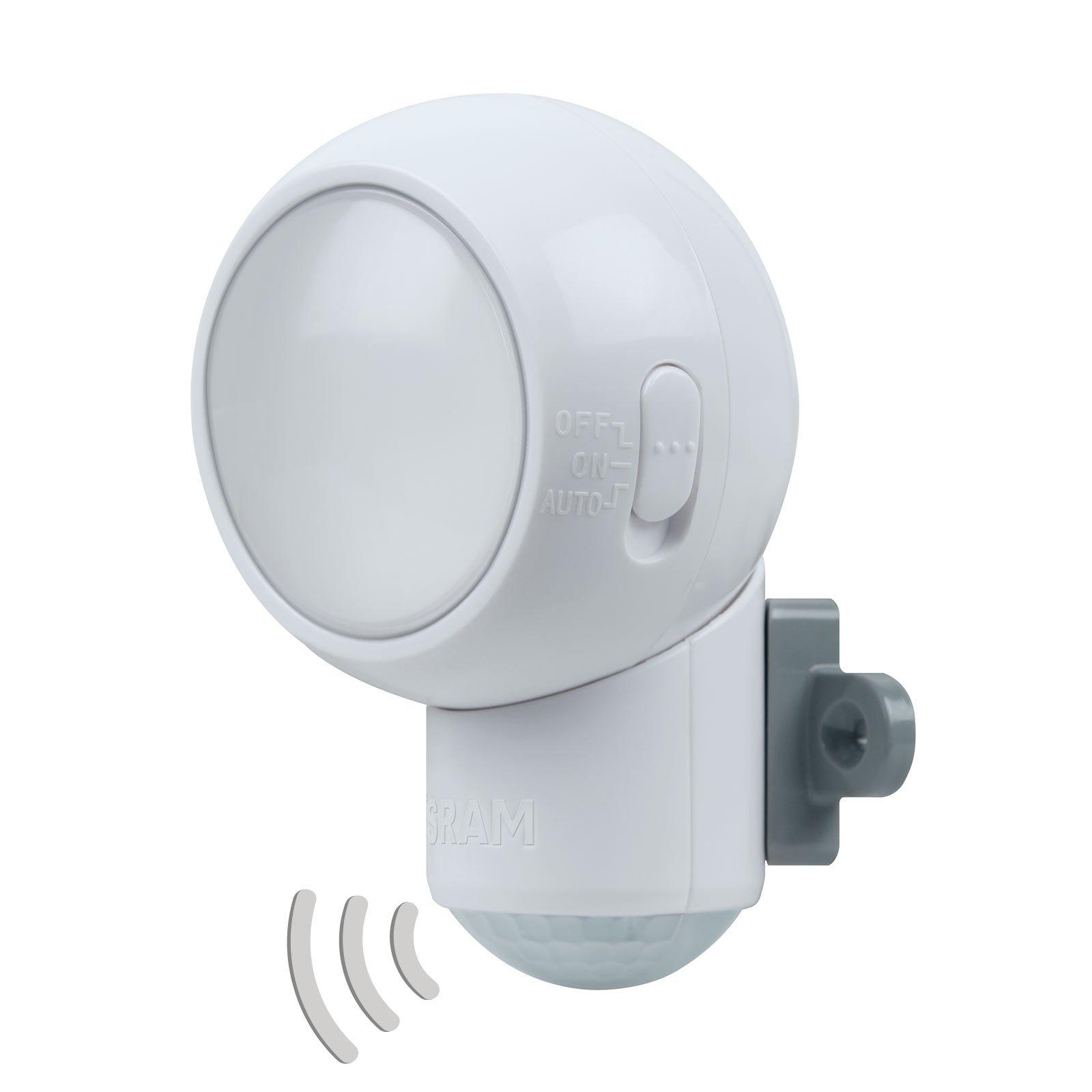 LEDVANCE Spylux LED-multifunksjonslampe, sensor