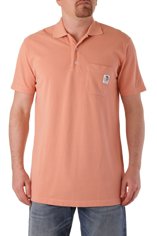 Diesel Men's Polo Shirt Various Colours 283866 - orange-2 L