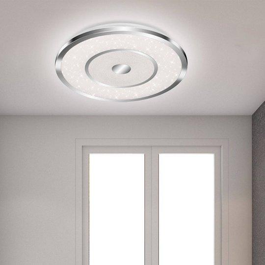 LED-taklampe Scapo CCT med fjernkontroll