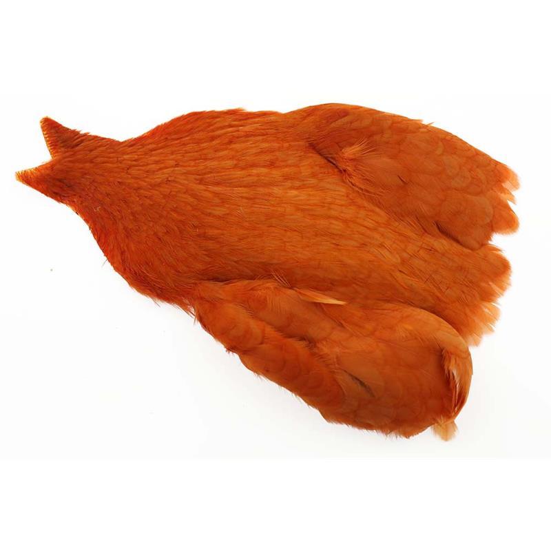 Whiting Hen Cape Burnt Orange