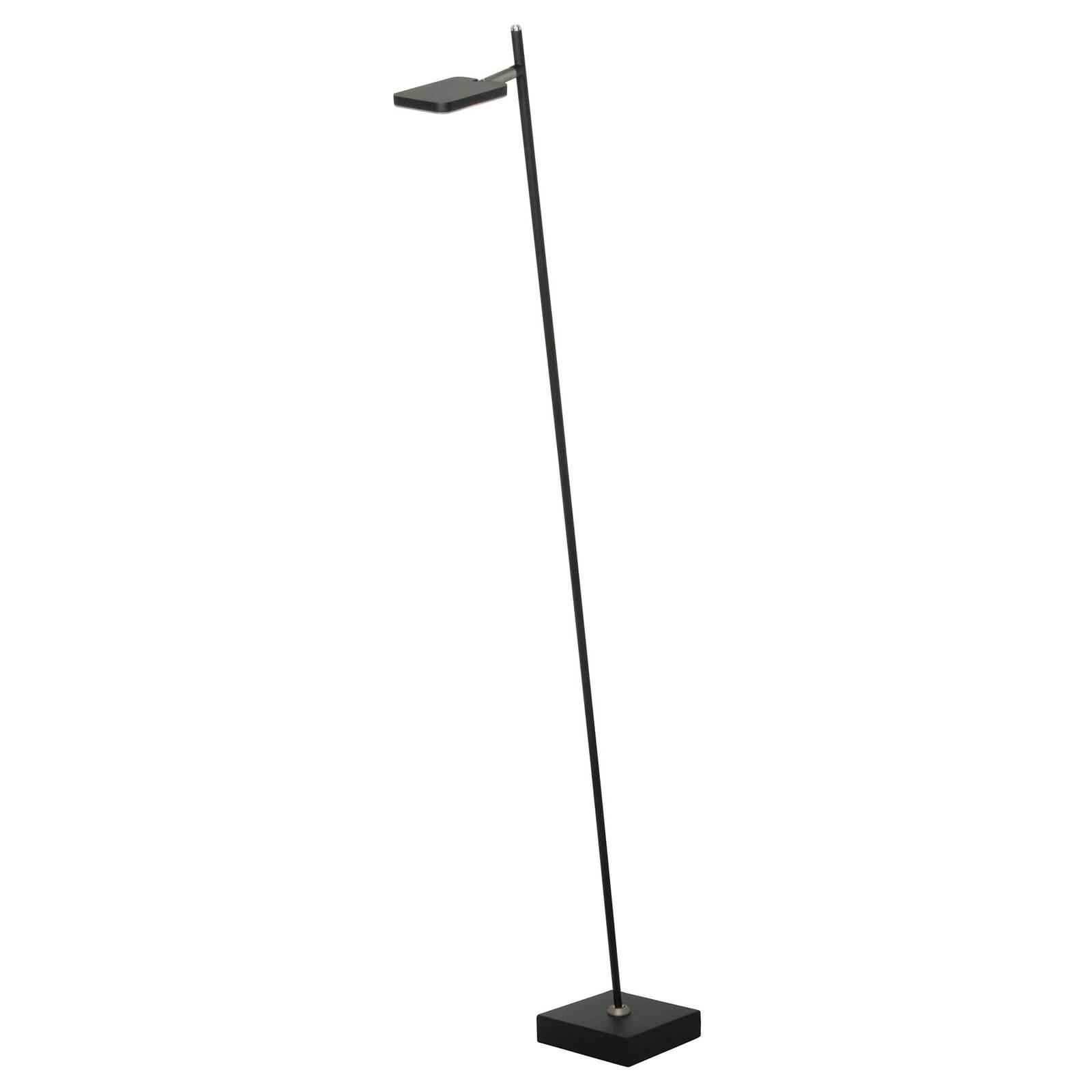LED-lattiavalo Block, 1-lamppuinen, musta