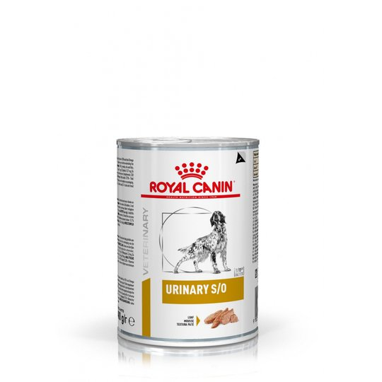 Royal Canin Veterinary Diets Dog Urinary S/O Loaf 12x410 g