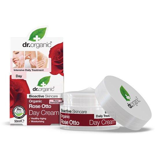 Dr. Organic Rose Otto Day Cream, 50 ml