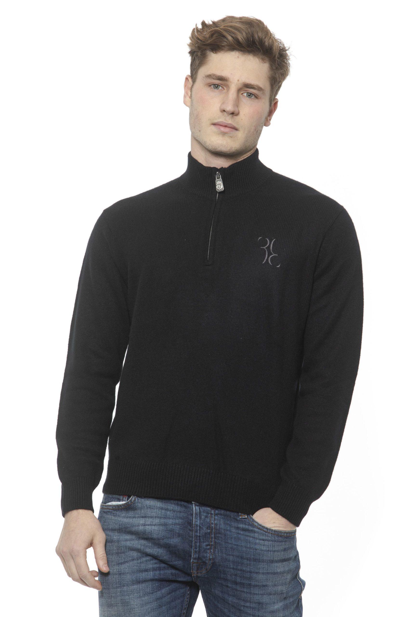 Billionaire Italian Couture Men's Nero Sweater Black BI1313352 - M