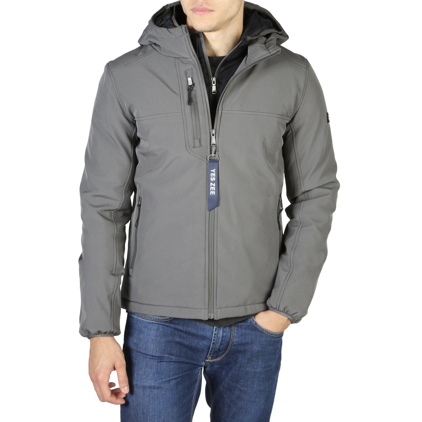 Yes Zee Men's Jacket Various Colours 0241_J804 - grey L