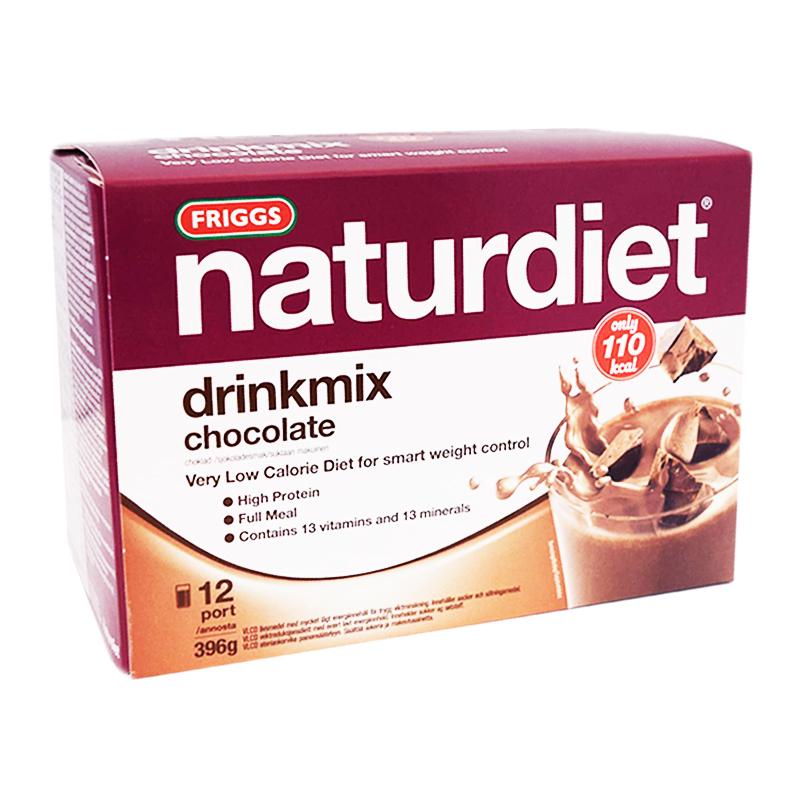 """Måltidsersättning """"Drinkmix"""" Choklad 396g - 34% rabatt"""