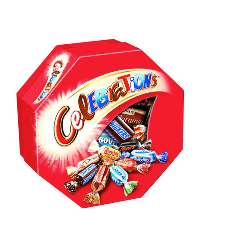Mixade Godisbitar Choklad 190g - 50% rabatt