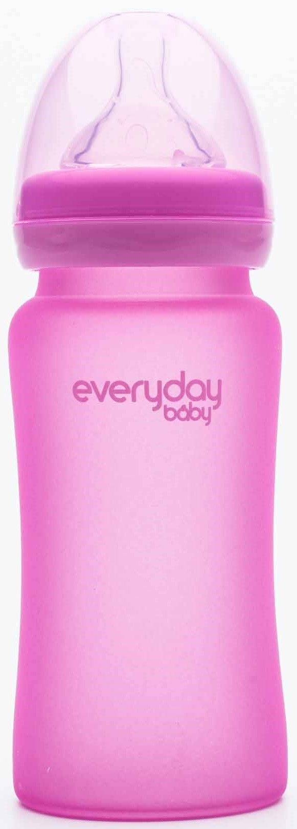 Everyday Baby Nappflaska Värmin 240ml, Cerise Pink
