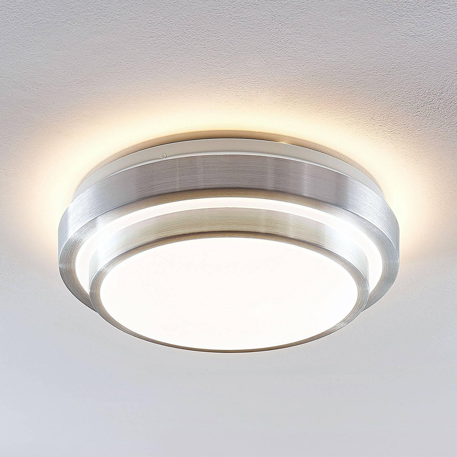 Lindby Naima LED-taklampe, rund, 34 cm