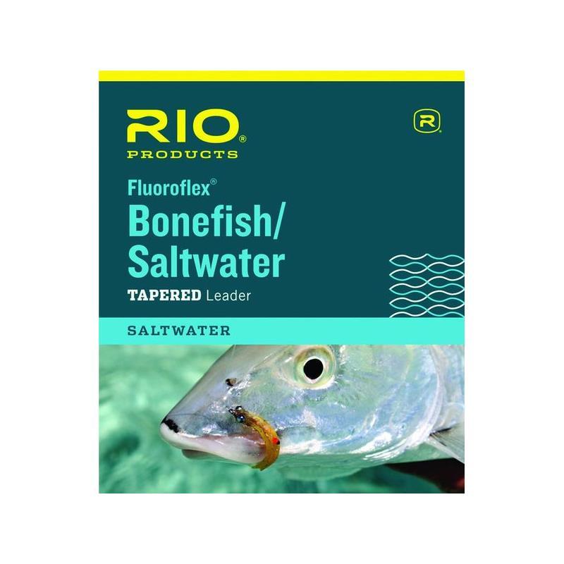 Rio Fluoroflex Bonefish/SW Leader 9' 0,28mm.