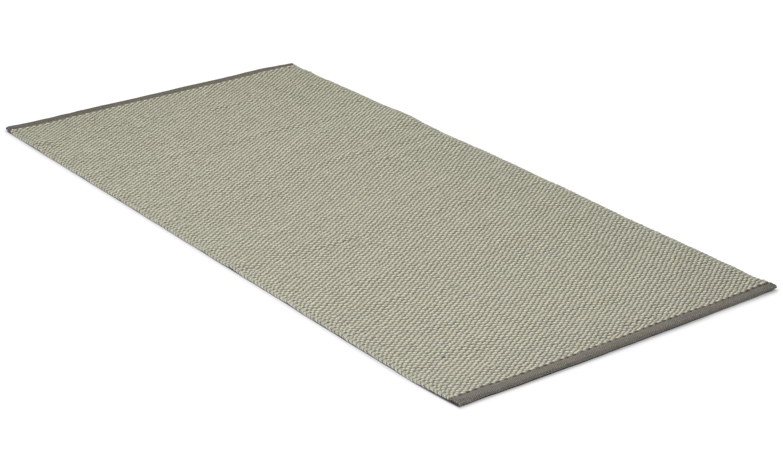 Orust grå - ullteppe